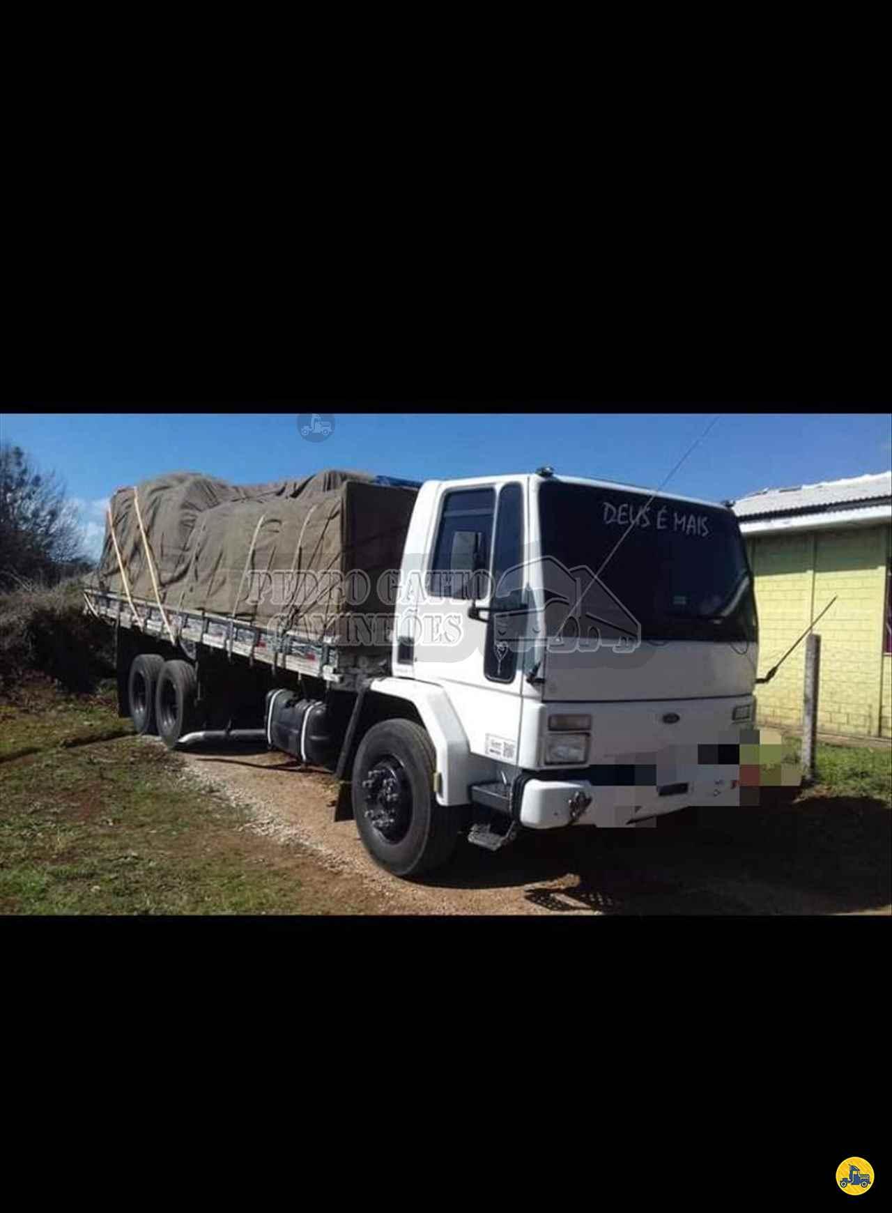 CAMINHAO FORD CARGO 1415 Carga Seca Truck 6x2 Pedro Gatto Caminhões MARINGA PARANÁ PR