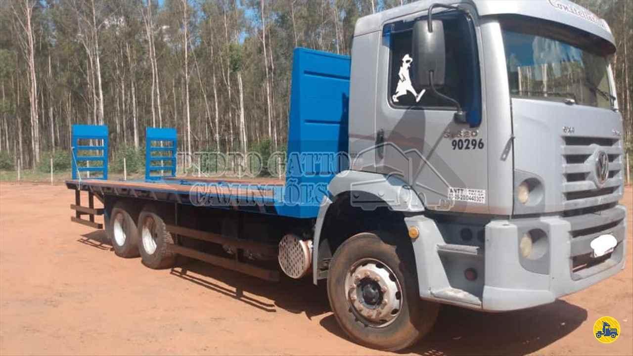 CAMINHAO VOLKSWAGEN VW 31320 Plataforma Traçado 6x4 Pedro Gatto Caminhões MARINGA PARANÁ PR