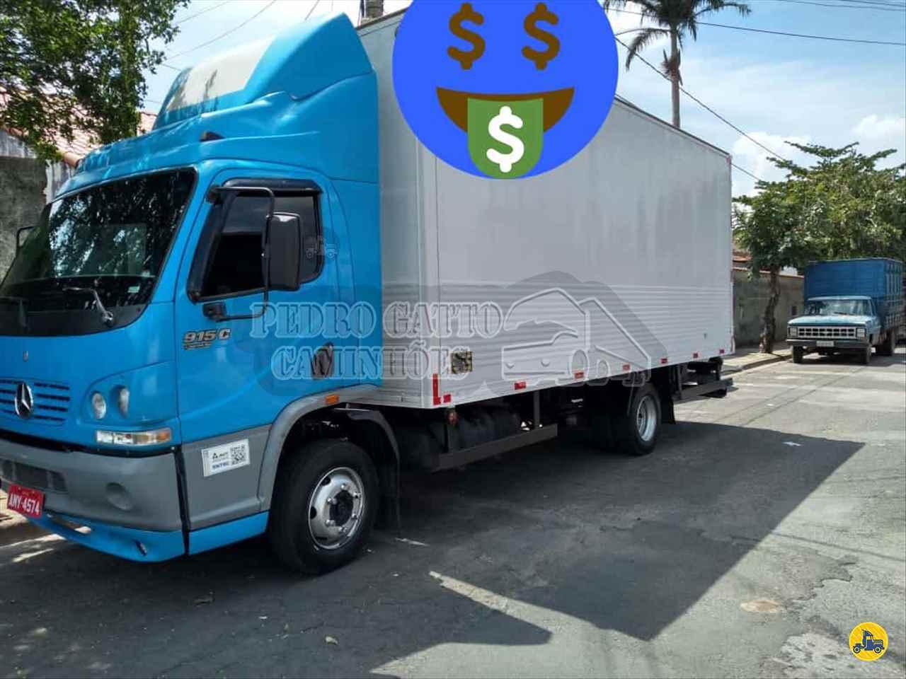 CAMINHAO MERCEDES-BENZ MB 915 Baú Furgão 3/4 4x2 Pedro Gatto Caminhões MARINGA PARANÁ PR