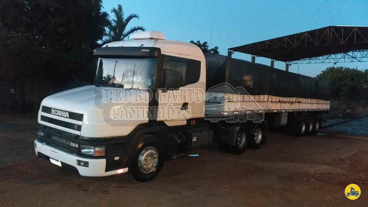 CAMINHAO SCANIA SCANIA 124 360 Cavalo Mecânico Truck 6x2 Pedro Gatto Caminhões MARINGA PARANÁ PR