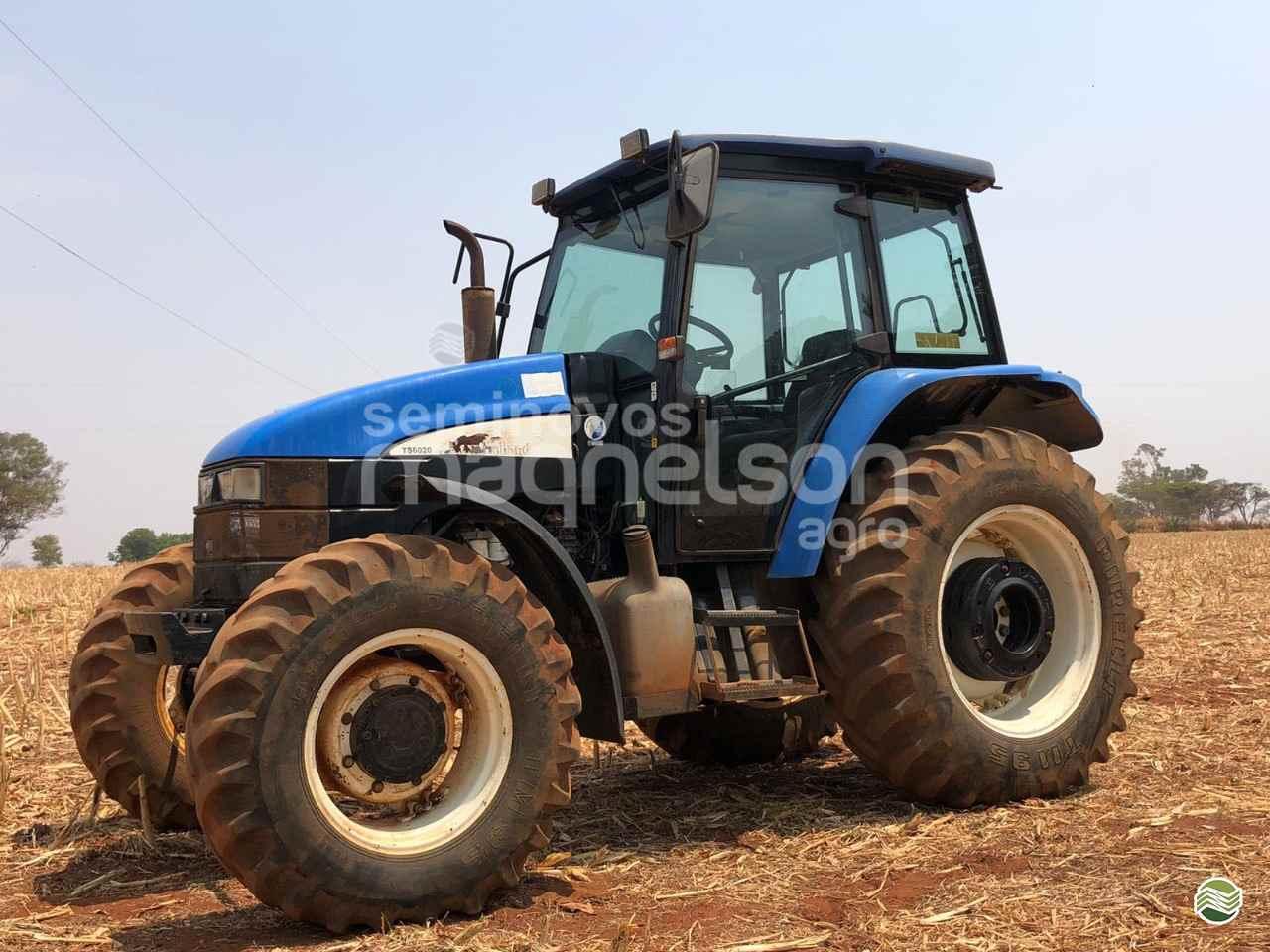 TRATOR NEW HOLLAND NEW TS 6020 Tração 4x4 Maqnelson Seminovos Agro UBERLANDIA MINAS GERAIS MG