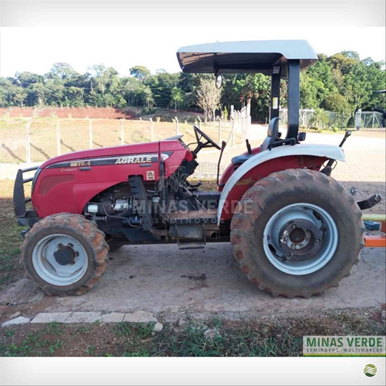 TRATOR AGRALE AGRALE 5075 Tração 4x4 Minas Verde - Semi Novos PERDOES MINAS GERAIS MG