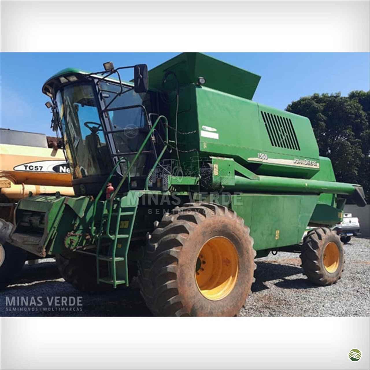 JOHN DEERE JOHN DEERE 1550  2002/2002 Minas Verde - Semi Novos