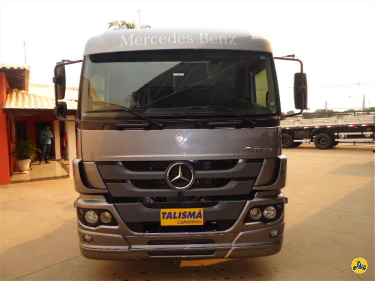 CAMINHAO MERCEDES-BENZ MB 2430 Chassis BiTruck 8x2 Talismã Veículos VARGEM GRANDE DO SUL SÃO PAULO SP