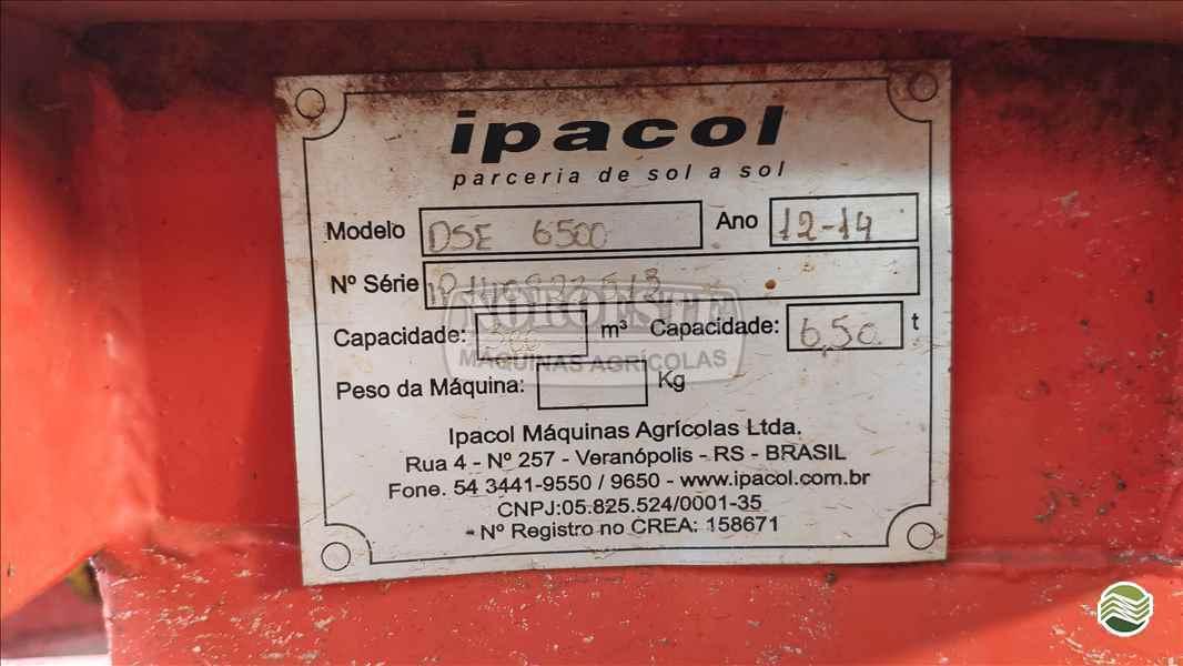 DISTRIBUIDOR FERTILIZANTES DISCO DUPLO  2014 Noroeste Máquinas Agrícolas