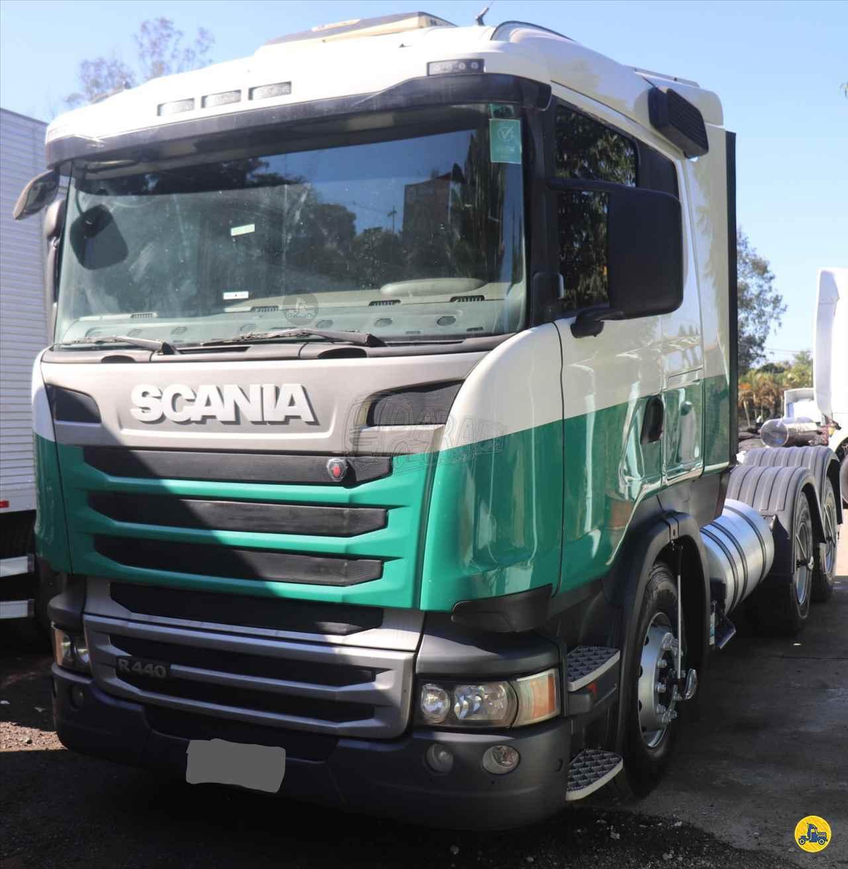 CAMINHAO SCANIA SCANIA 440 Chassis Traçado 6x4 Paraíso Pesados ARACARIGUAMA SÃO PAULO SP