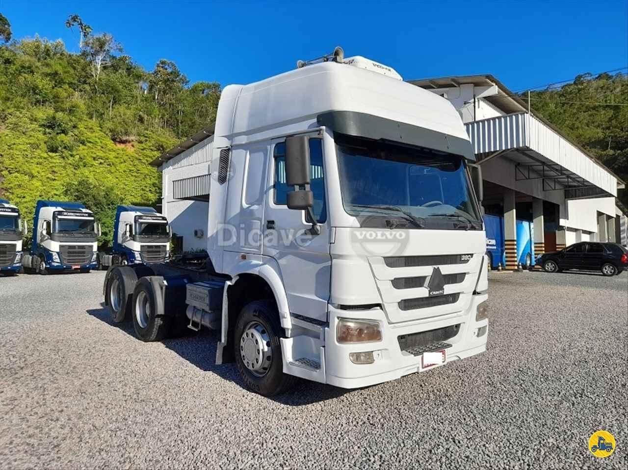 CAMINHAO SINOTRUK HOWO 380 Cavalo Mecânico Truck 6x2 Dicave Viking Center - Volvo ITAJAI SANTA CATARINA SC