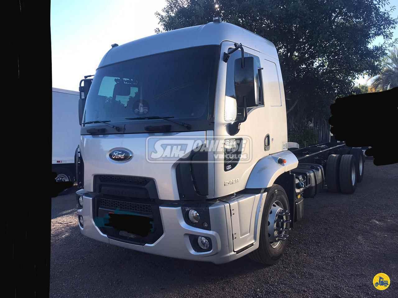 CAMINHAO FORD CARGO 2429 Chassis Truck 6x2 Sanjoanense Veículos SAO JOAO DA BOA VISTA SÃO PAULO SP