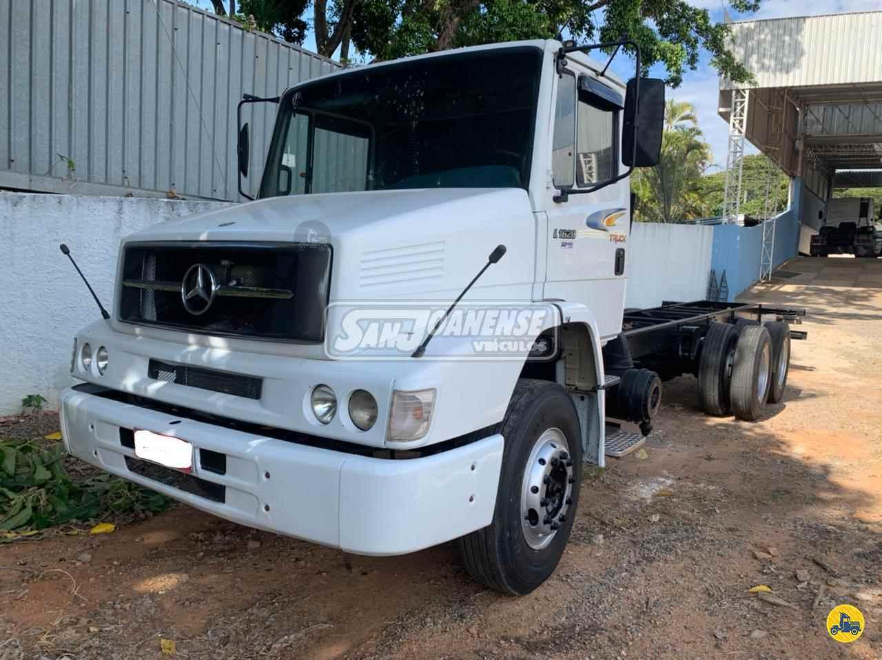 CAMINHAO MERCEDES-BENZ MB 1620 Chassis Truck 6x2 Sanjoanense Veículos SAO JOAO DA BOA VISTA SÃO PAULO SP