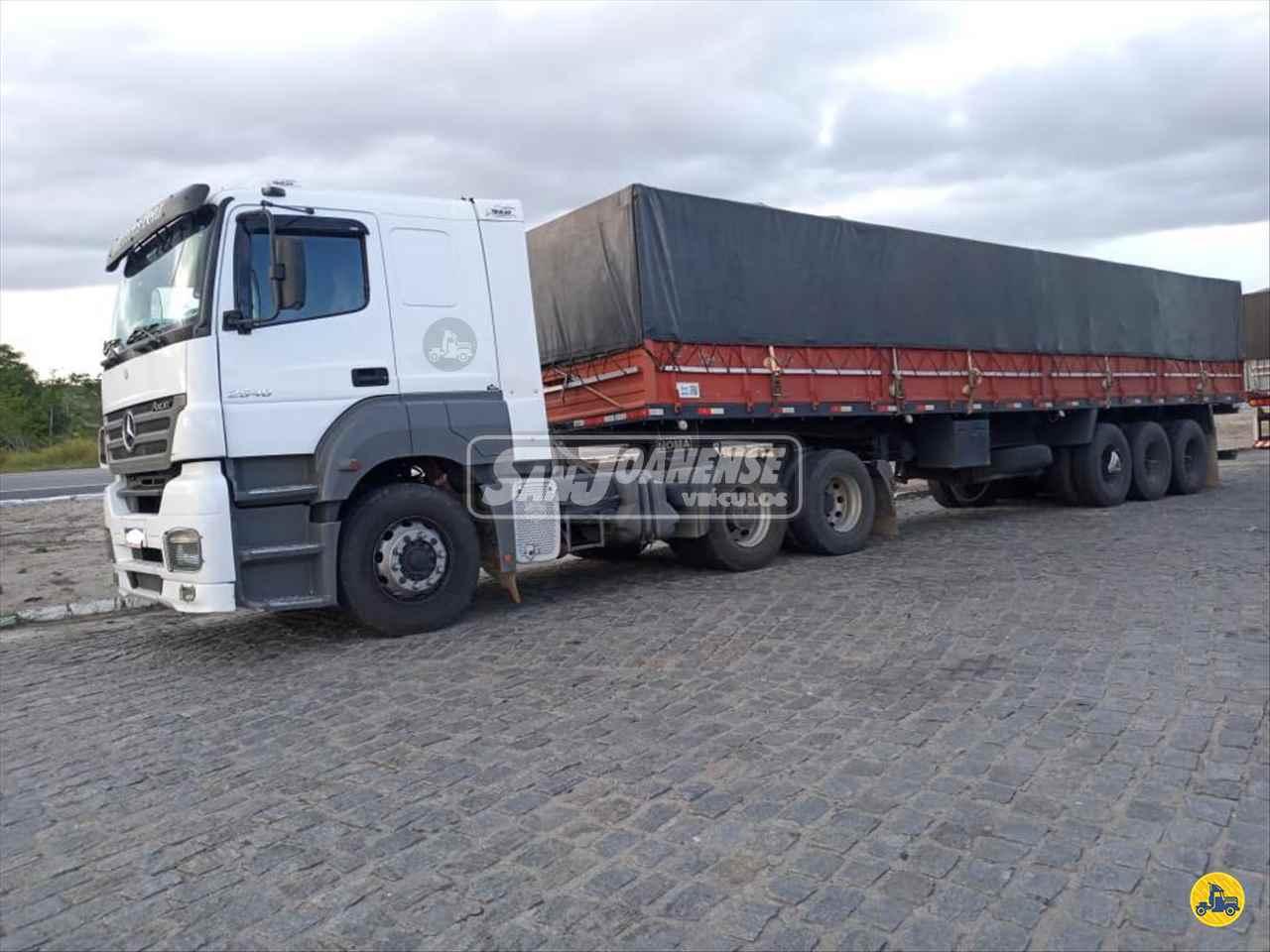 CAMINHAO MERCEDES-BENZ MB 2540 Cavalo Mecânico Truck 6x2 Sanjoanense Veículos SAO JOAO DA BOA VISTA SÃO PAULO SP