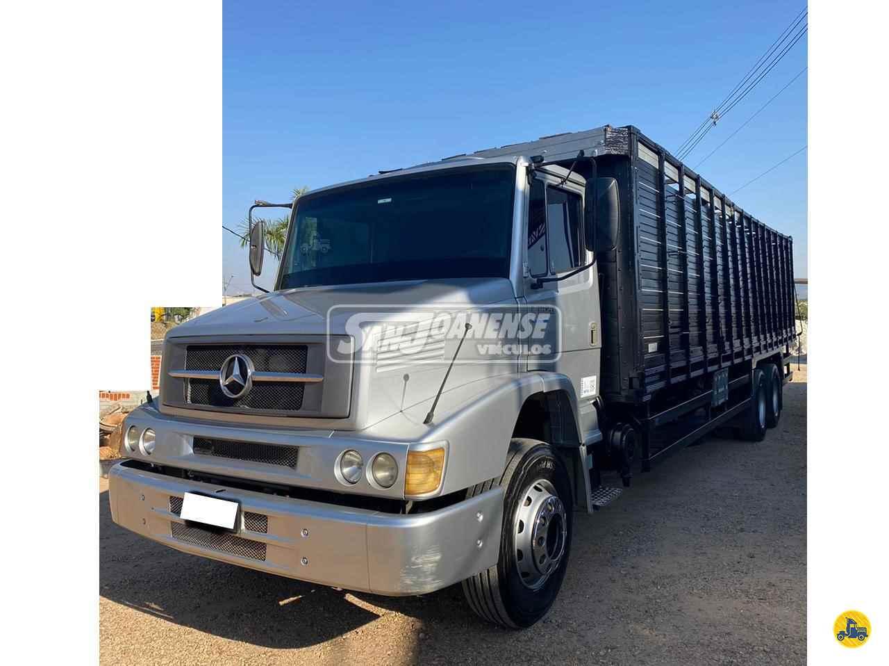 CAMINHAO MERCEDES-BENZ MB 1620 Boiadeiro Truck 6x2 Sanjoanense Veículos SAO JOAO DA BOA VISTA SÃO PAULO SP
