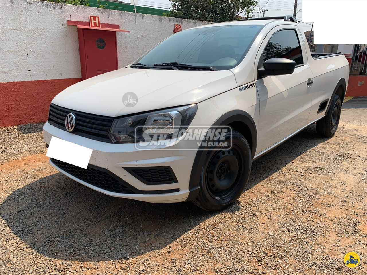 CARRO VW - Volkswagen Saveiro 1.6 Robust Sanjoanense Veículos SAO JOAO DA BOA VISTA SÃO PAULO SP