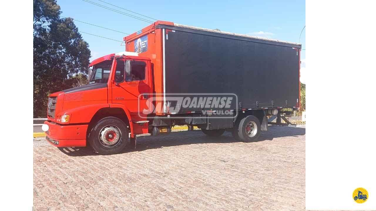 CAMINHAO MERCEDES-BENZ MB 1319 Baú Sider Toco 4x2 Sanjoanense Veículos SAO JOAO DA BOA VISTA SÃO PAULO SP