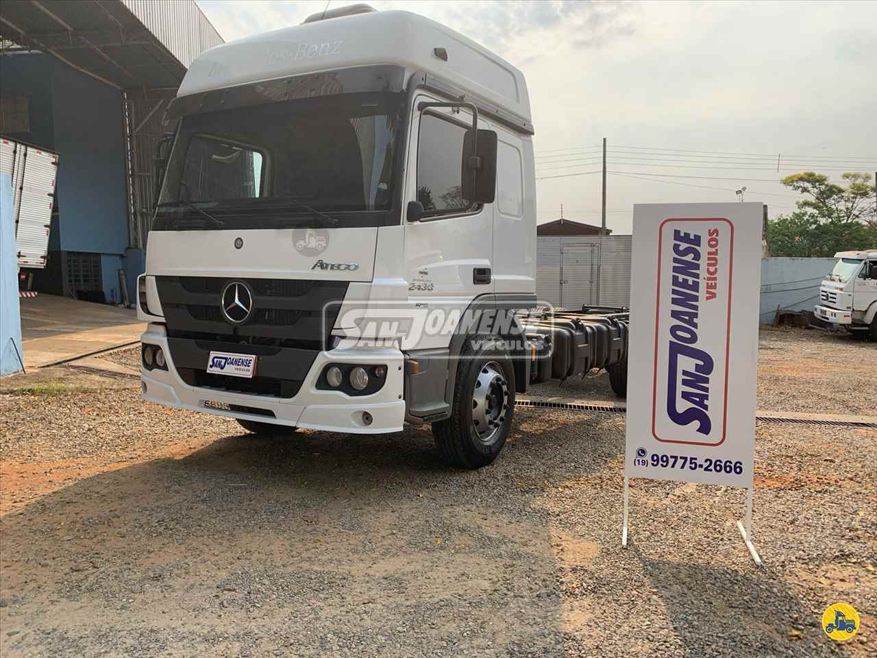 CAMINHAO MERCEDES-BENZ MB 2430 Chassis Truck 6x2 Sanjoanense Veículos SAO JOAO DA BOA VISTA SÃO PAULO SP