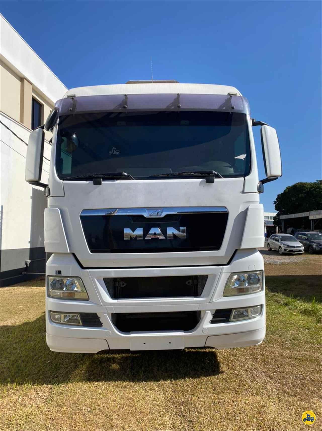 CAMINHAO MAN TGX 28 440 Chassis Truck 6x2 AutoPatos - VW PATOS DE MINAS MINAS GERAIS MG