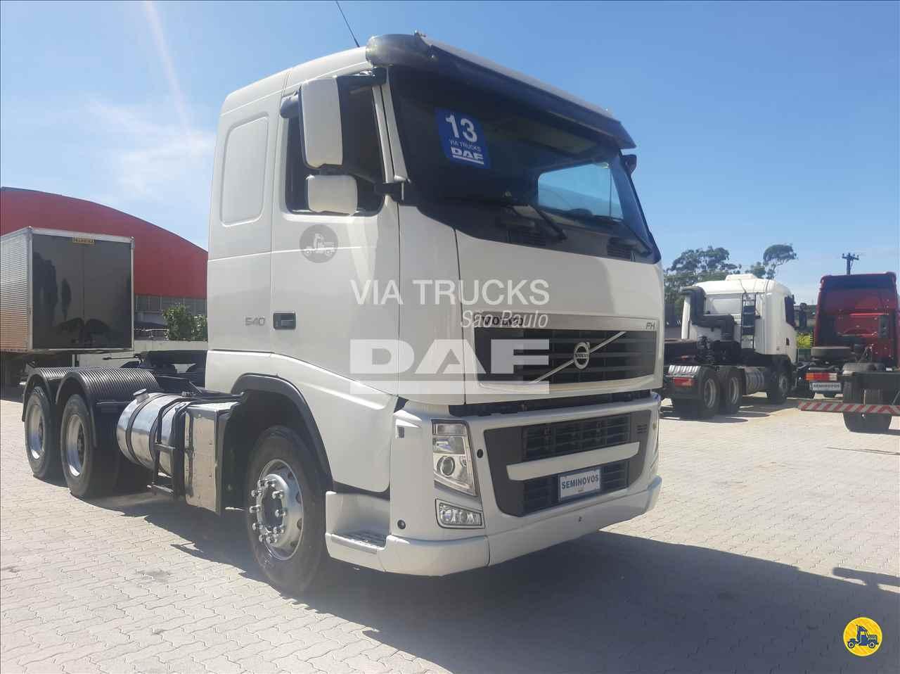 VOLVO VOLVO FH 540 359206km 2013/2013 DAF – Via Trucks São Paulo