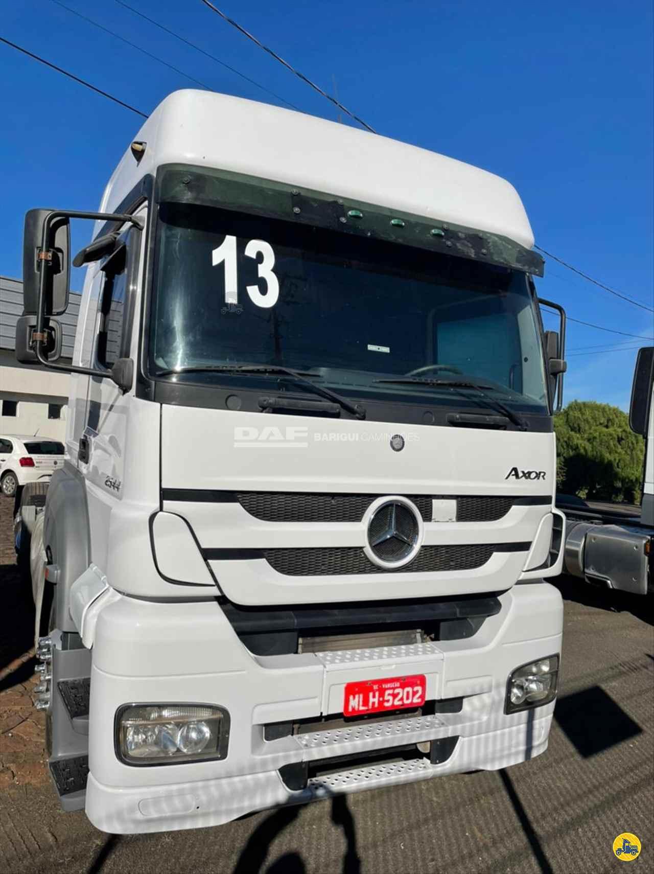 CAMINHAO MERCEDES-BENZ MB 2544 Cavalo Mecânico Truck 6x2 DAF Barigui Chapecó (Cordilheira Alta) CORDILHEIRA ALTA SANTA CATARINA SC