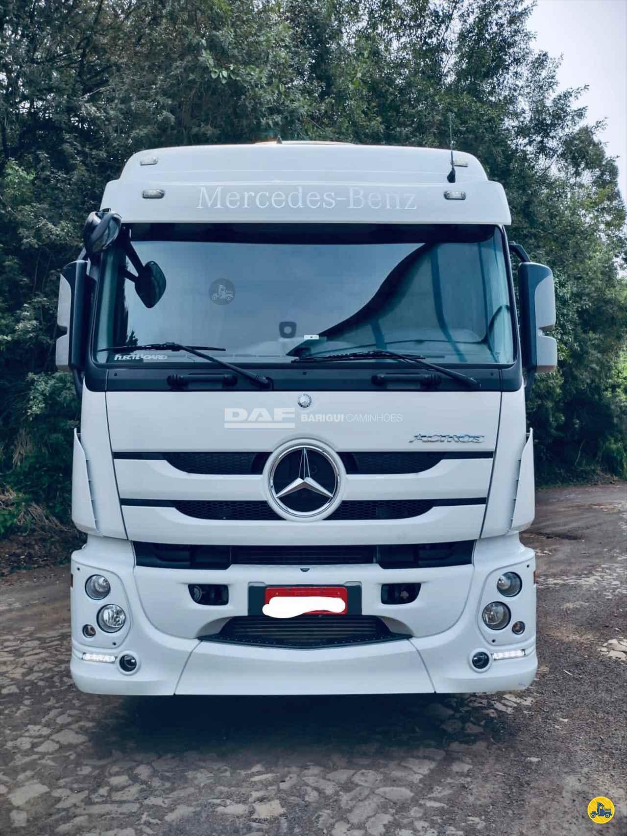 CAMINHAO MERCEDES-BENZ MB 2546 Chassis Truck 6x2 DAF Barigui Chapecó (Cordilheira Alta) CORDILHEIRA ALTA SANTA CATARINA SC