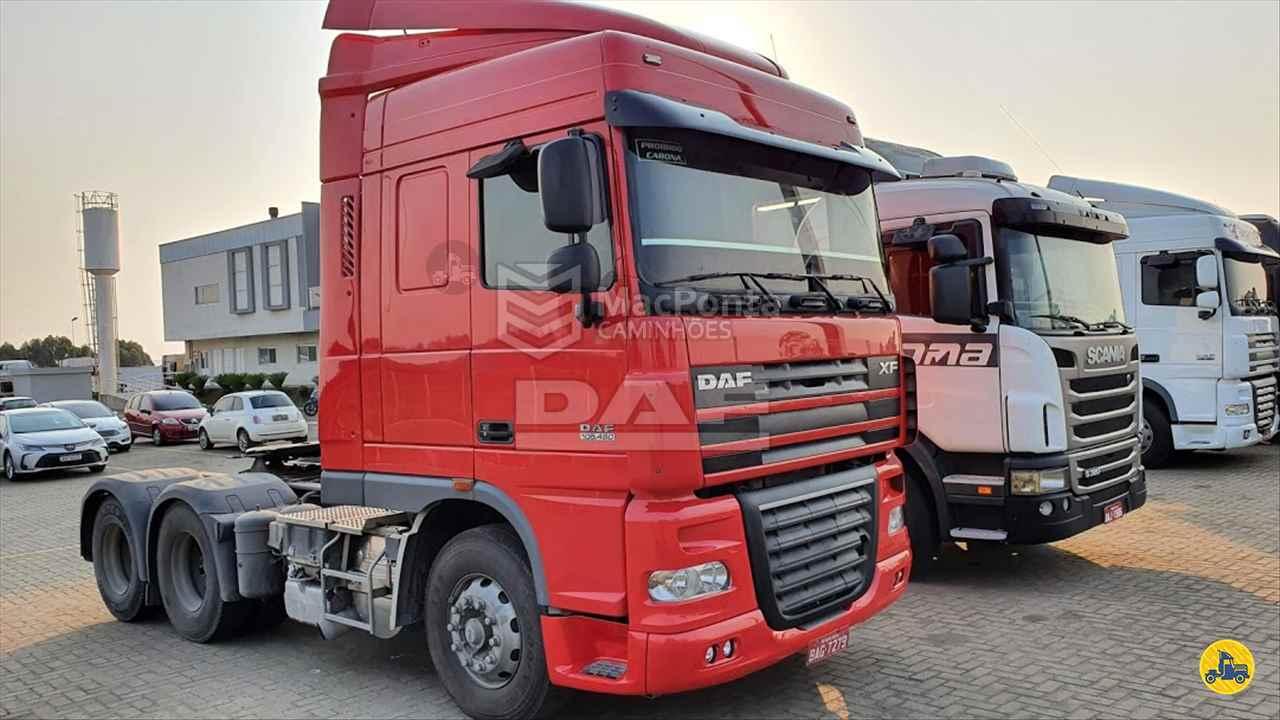CAMINHAO DAF DAF XF105 460 Cavalo Mecânico Truck 6x2 MacPonta Caminhões - DAF PONTA GROSSA PARANÁ PR