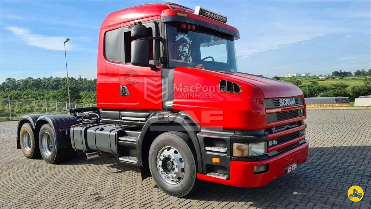CAMINHAO SCANIA SCANIA 124 360 Cavalo Mecânico Truck 6x2 MacPonta Caminhões - DAF PONTA GROSSA PARANÁ PR