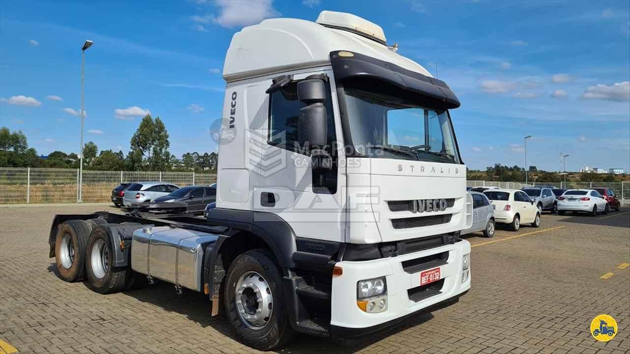 CAMINHAO IVECO STRALIS 440 Cavalo Mecânico Truck 6x2 MacPonta Caminhões - DAF PONTA GROSSA PARANÁ PR