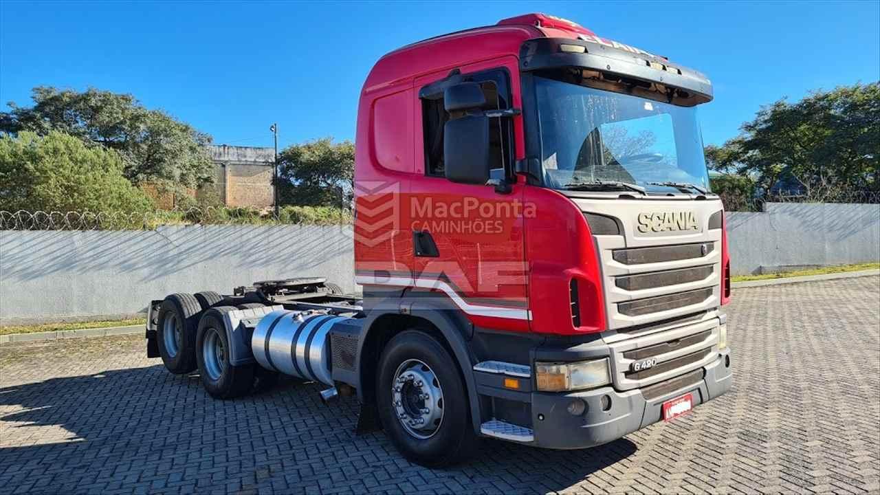 CAMINHAO SCANIA SCANIA 420 Cavalo Mecânico Truck 6x2 MacPonta Caminhões - DAF PONTA GROSSA PARANÁ PR