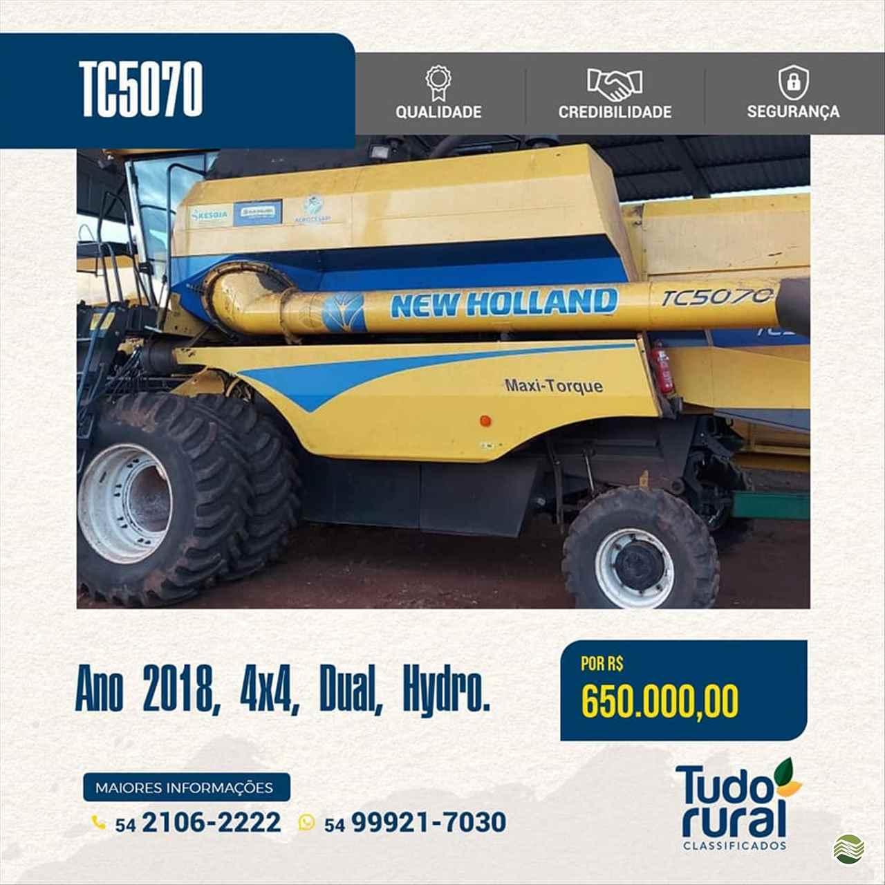 COLHEITADEIRA NEW HOLLAND TC 5070 Ke Soja - New Holland ERECHIM RIO GRANDE DO SUL RS