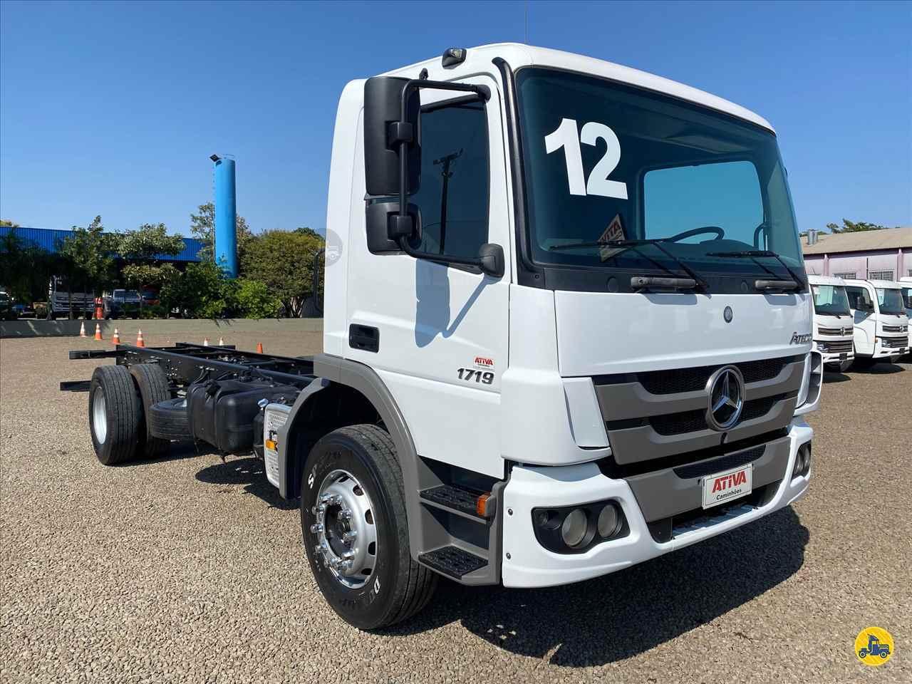 CAMINHAO MERCEDES-BENZ MB 1719 Chassis Toco 4x2 Ativa Caminhões CATANDUVA SÃO PAULO SP