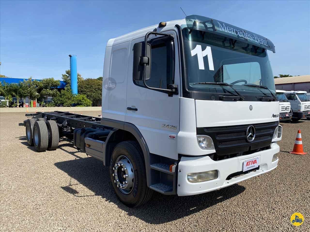 CAMINHAO MERCEDES-BENZ MB 2425 Chassis Truck 6x2 Ativa Caminhões CATANDUVA SÃO PAULO SP