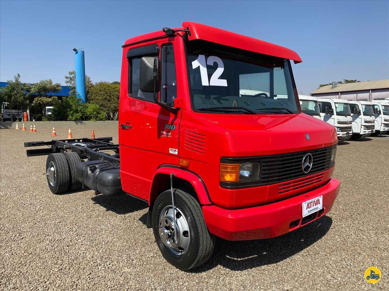 CAMINHAO MERCEDES-BENZ MB 710 Chassis 3/4 4x2 Ativa Caminhões CATANDUVA SÃO PAULO SP