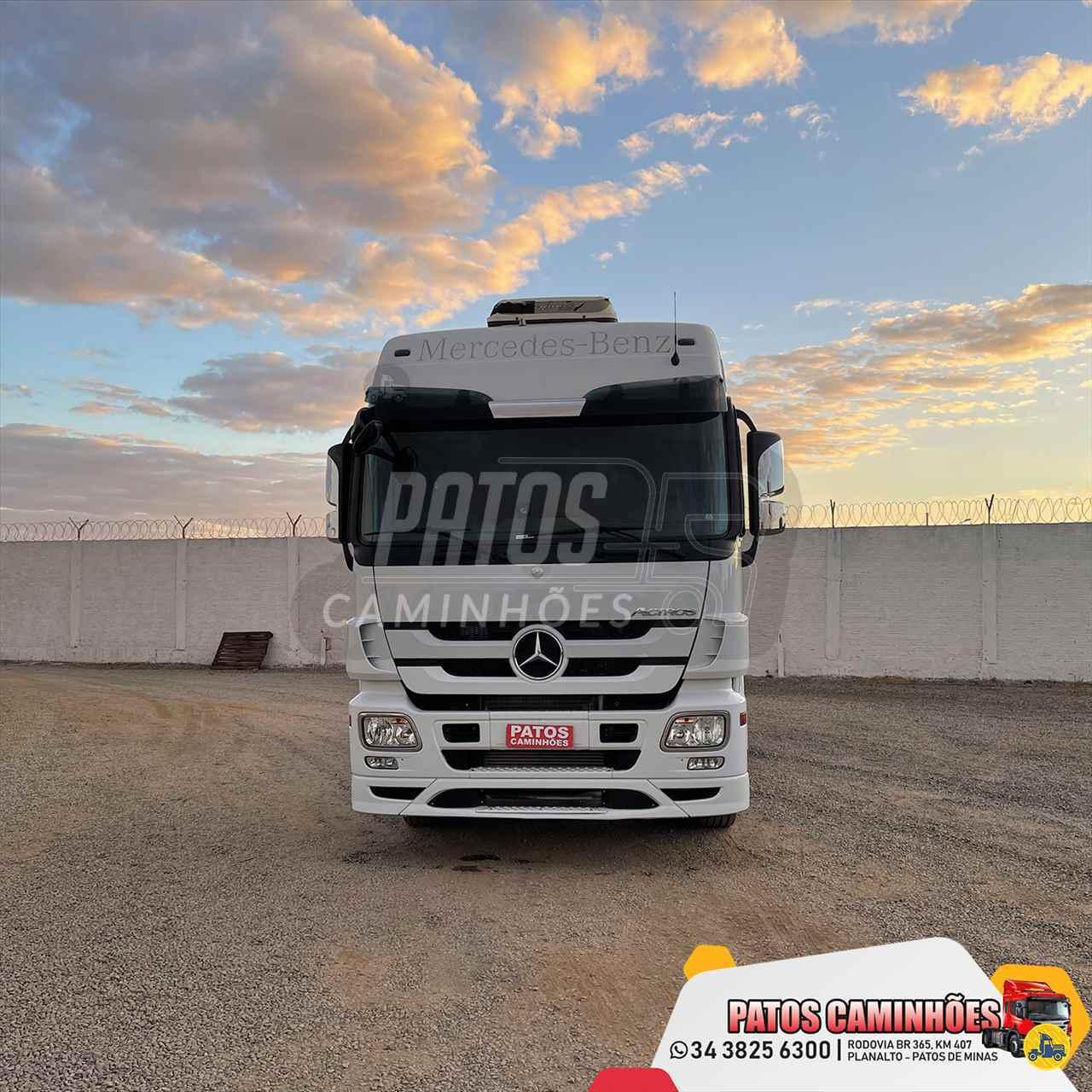 CAMINHAO MERCEDES-BENZ MB 2546 Cavalo Mecânico Traçado 6x4 Patos Caminhões PATOS DE MINAS MINAS GERAIS MG