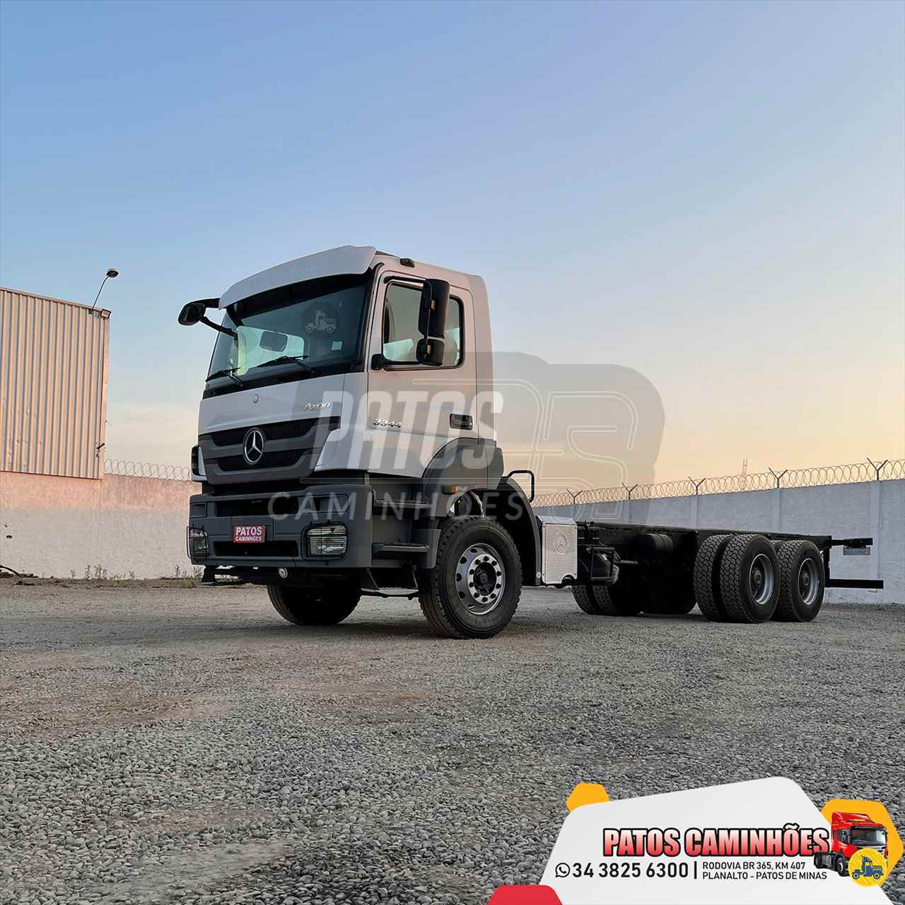 MB 3344 de Patos Caminhões - PATOS DE MINAS/MG