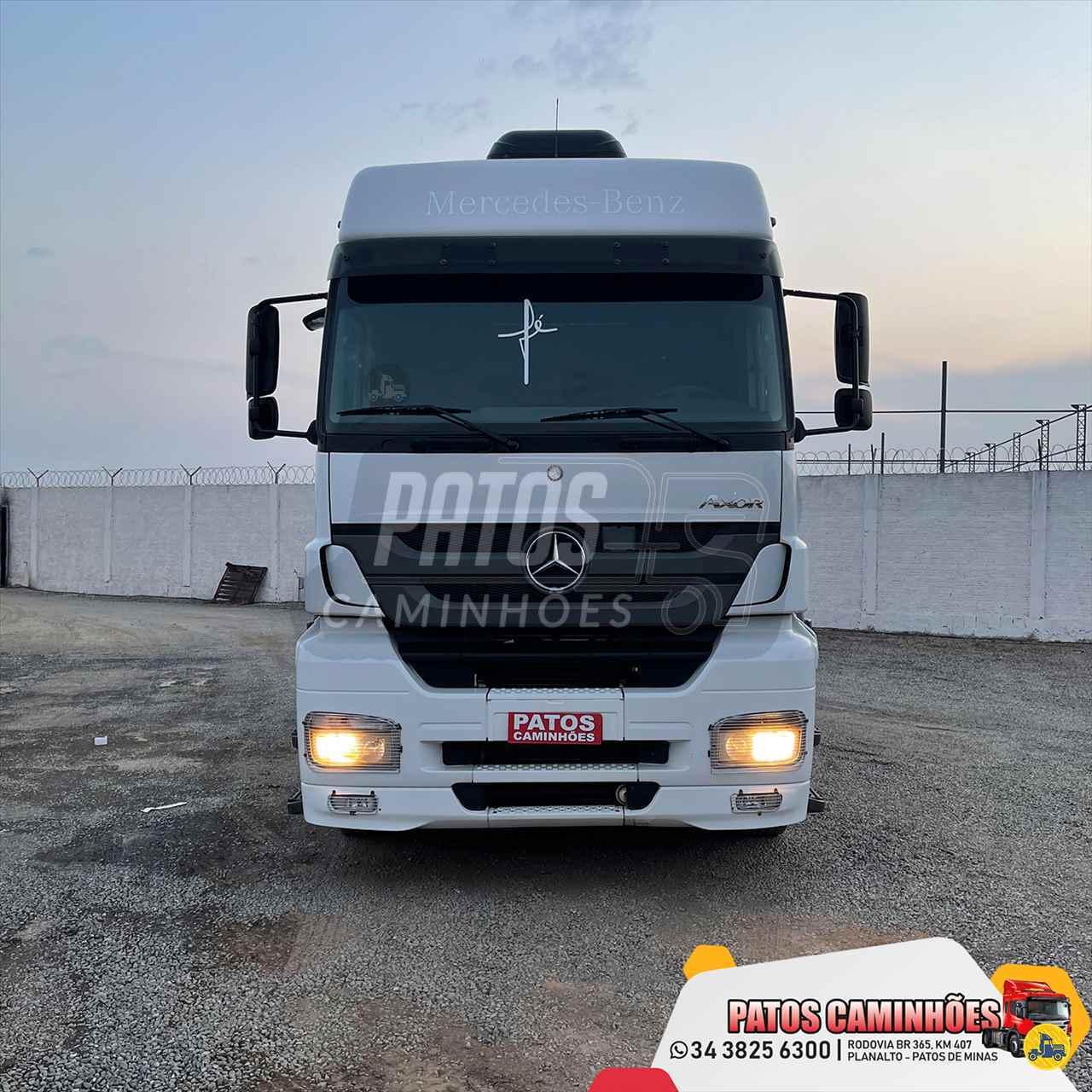CAMINHAO MERCEDES-BENZ MB 2544 Cavalo Mecânico Truck 6x2 Patos Caminhões PATOS DE MINAS MINAS GERAIS MG