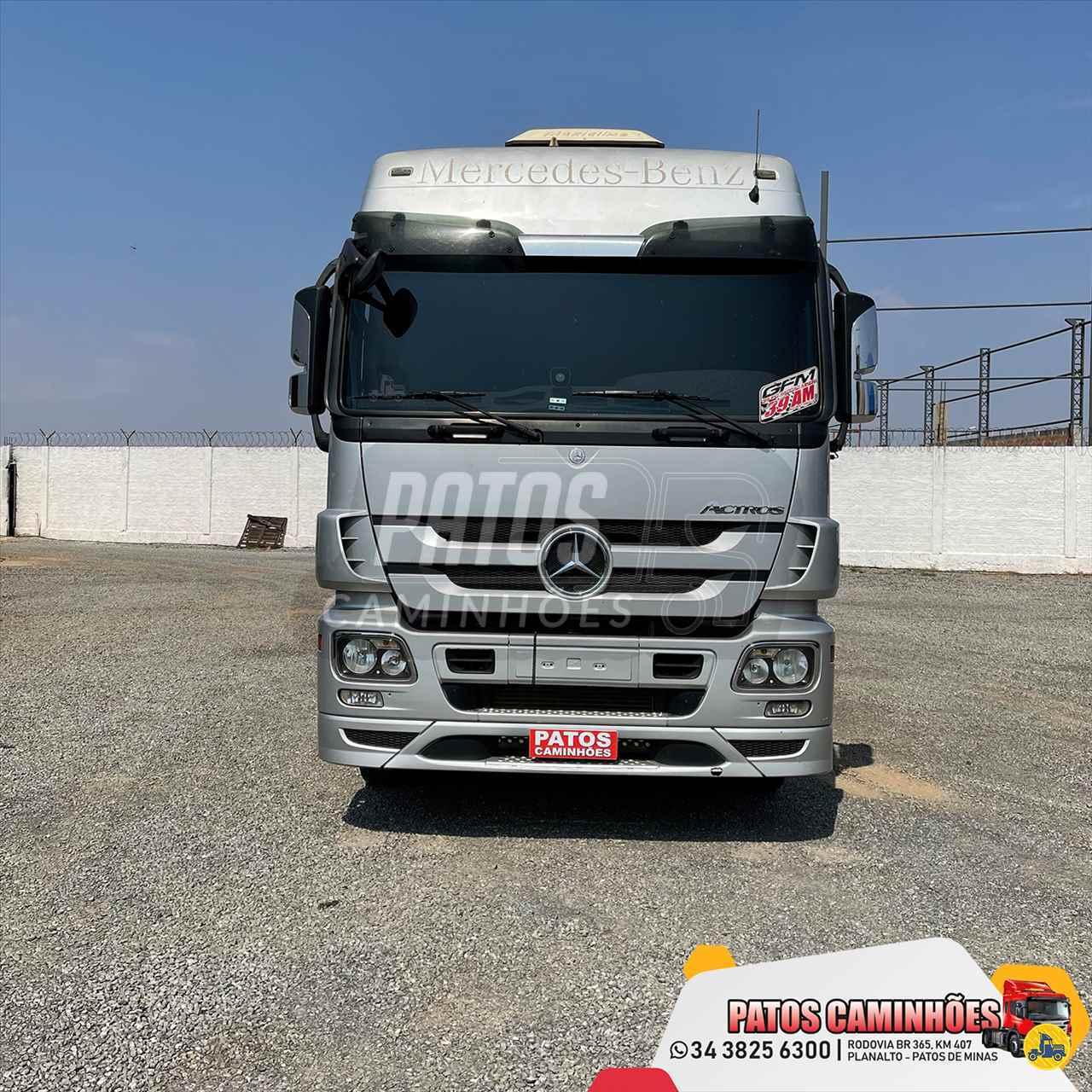 CAMINHAO MERCEDES-BENZ MB 2546 Cavalo Mecânico Truck 6x2 Patos Caminhões PATOS DE MINAS MINAS GERAIS MG