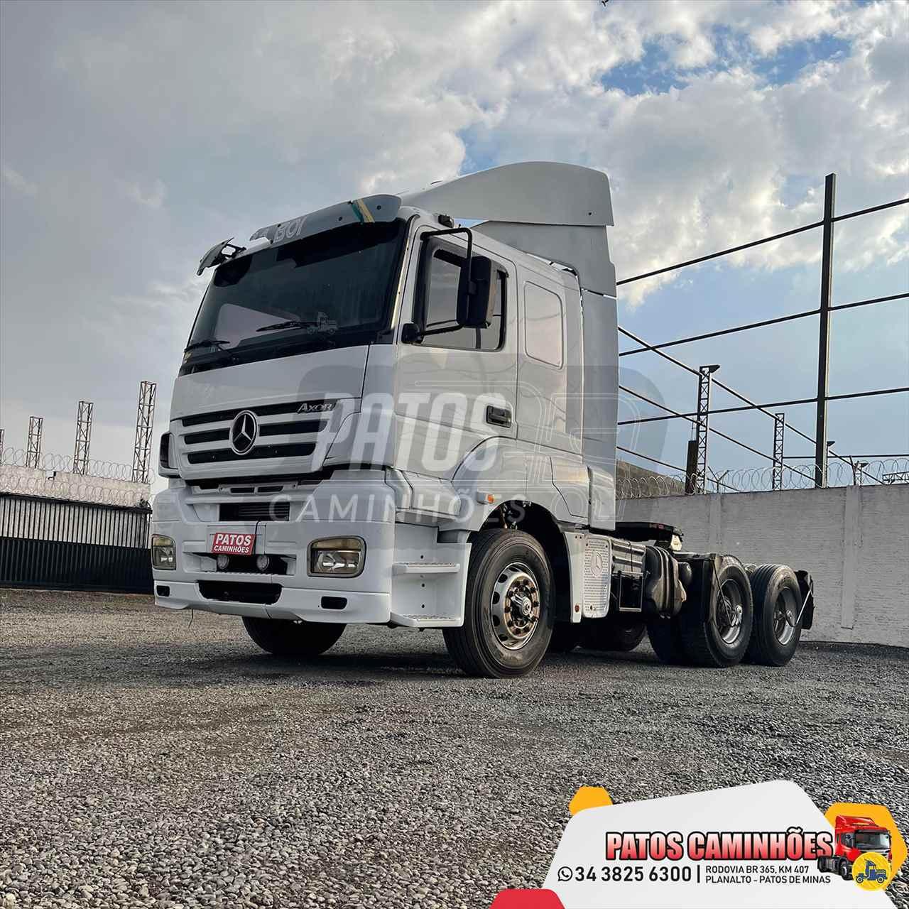 CAMINHAO MERCEDES-BENZ MB 2540 Cavalo Mecânico Truck 6x2 Patos Caminhões PATOS DE MINAS MINAS GERAIS MG