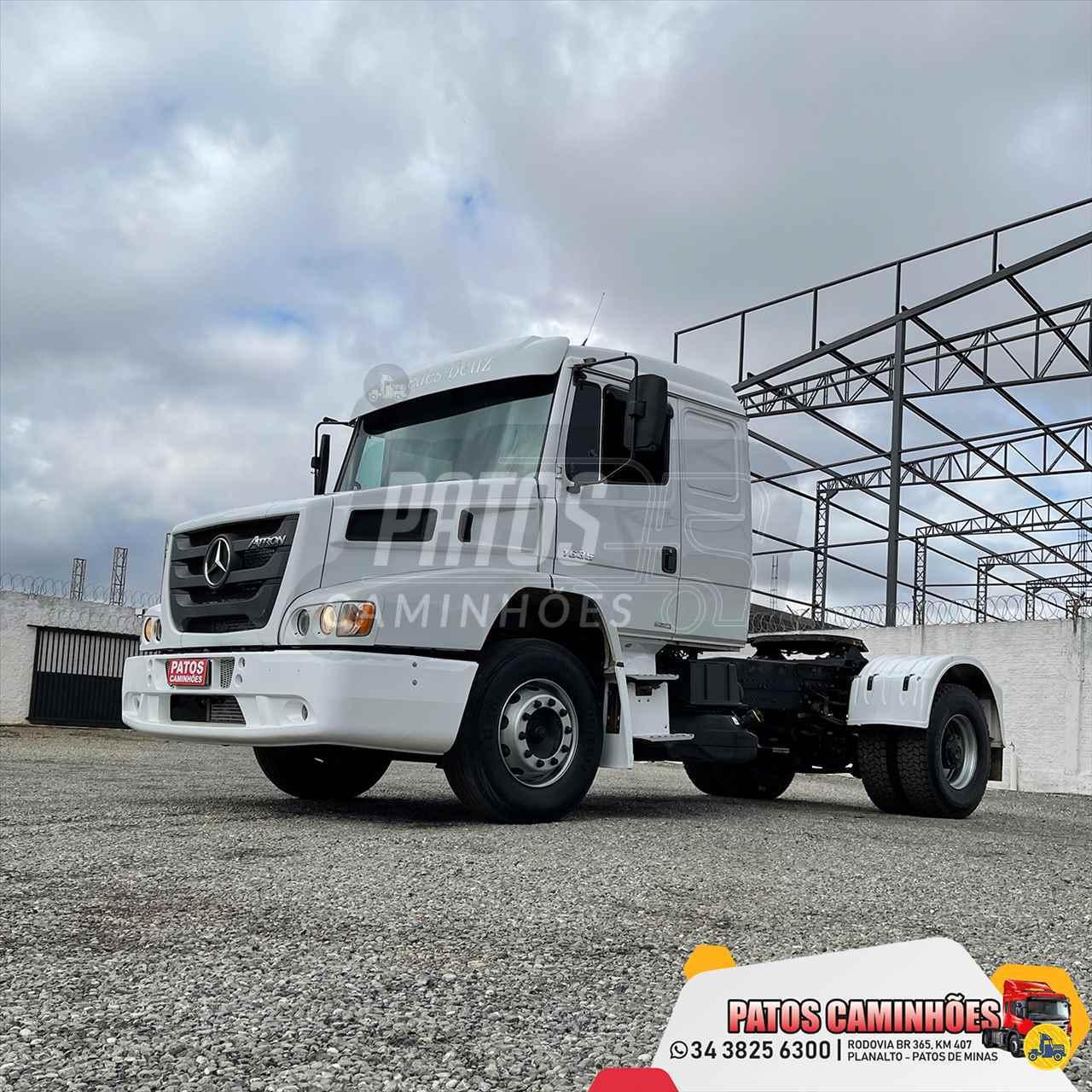 CAMINHAO MERCEDES-BENZ MB 1635 Cavalo Mecânico Toco 4x2 Patos Caminhões PATOS DE MINAS MINAS GERAIS MG