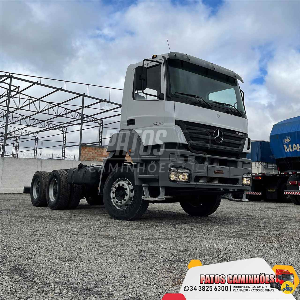 CAMINHAO MERCEDES-BENZ MB 3340 Cavalo Mecânico Traçado 6x4 Patos Caminhões PATOS DE MINAS MINAS GERAIS MG