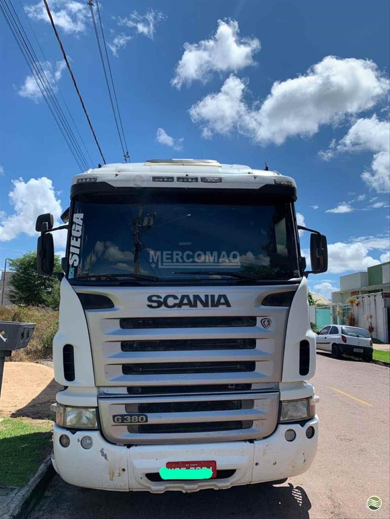 CAMINHAO SCANIA SCANIA 380 Graneleiro Truck 6x2 Mercomaq - JAN - GTS PRIMAVERA DO LESTE MATO GROSSO MT