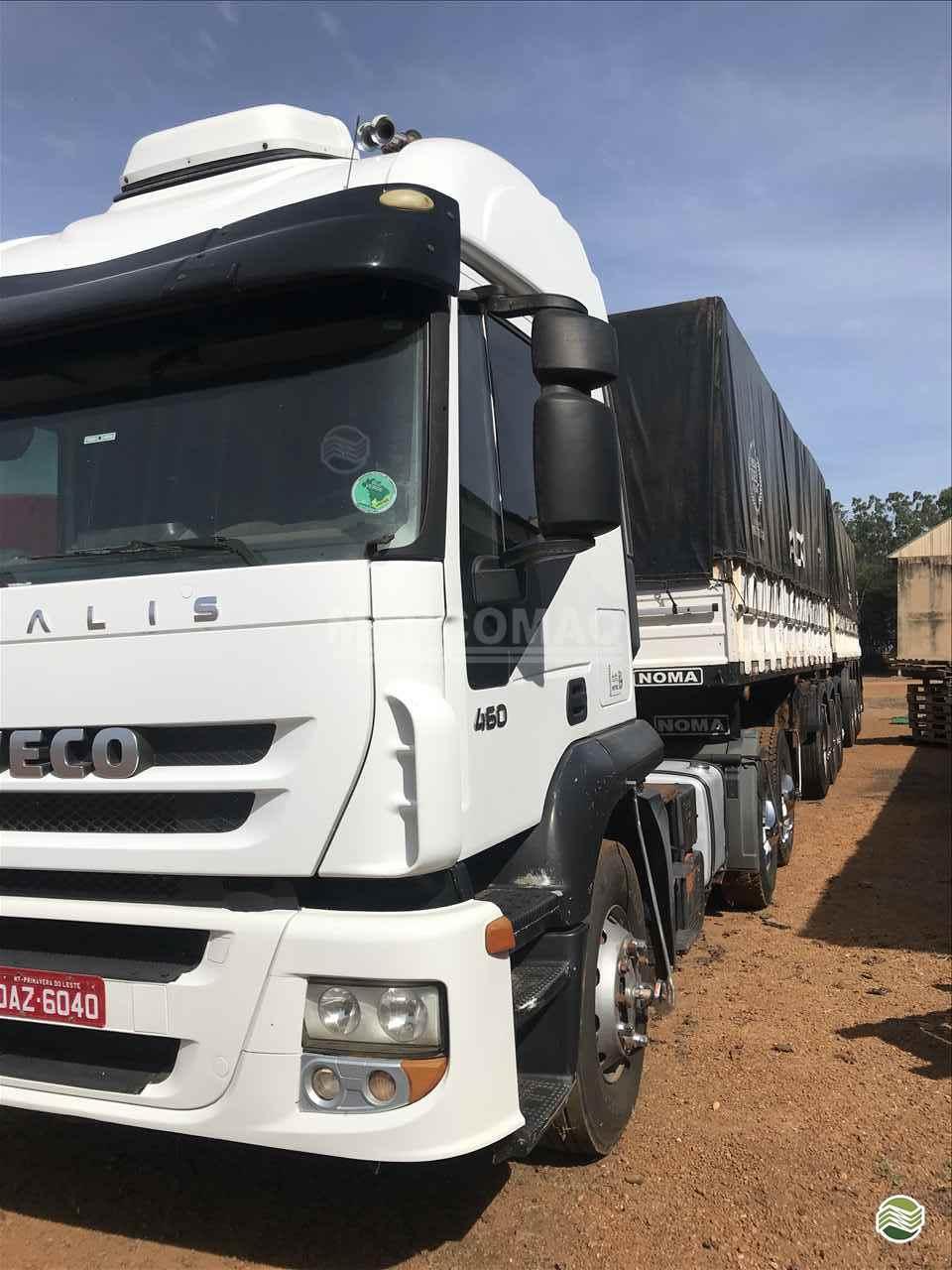 CAMINHAO IVECO STRALIS 460 Graneleiro Truck 6x2 Mercomaq - JAN - GTS PRIMAVERA DO LESTE MATO GROSSO MT