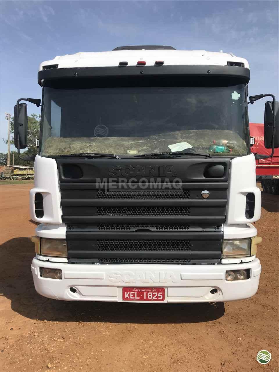 CAMINHAO SCANIA SCANIA 114 340 Graneleiro Truck 6x2 Mercomaq - JAN - GTS PRIMAVERA DO LESTE MATO GROSSO MT