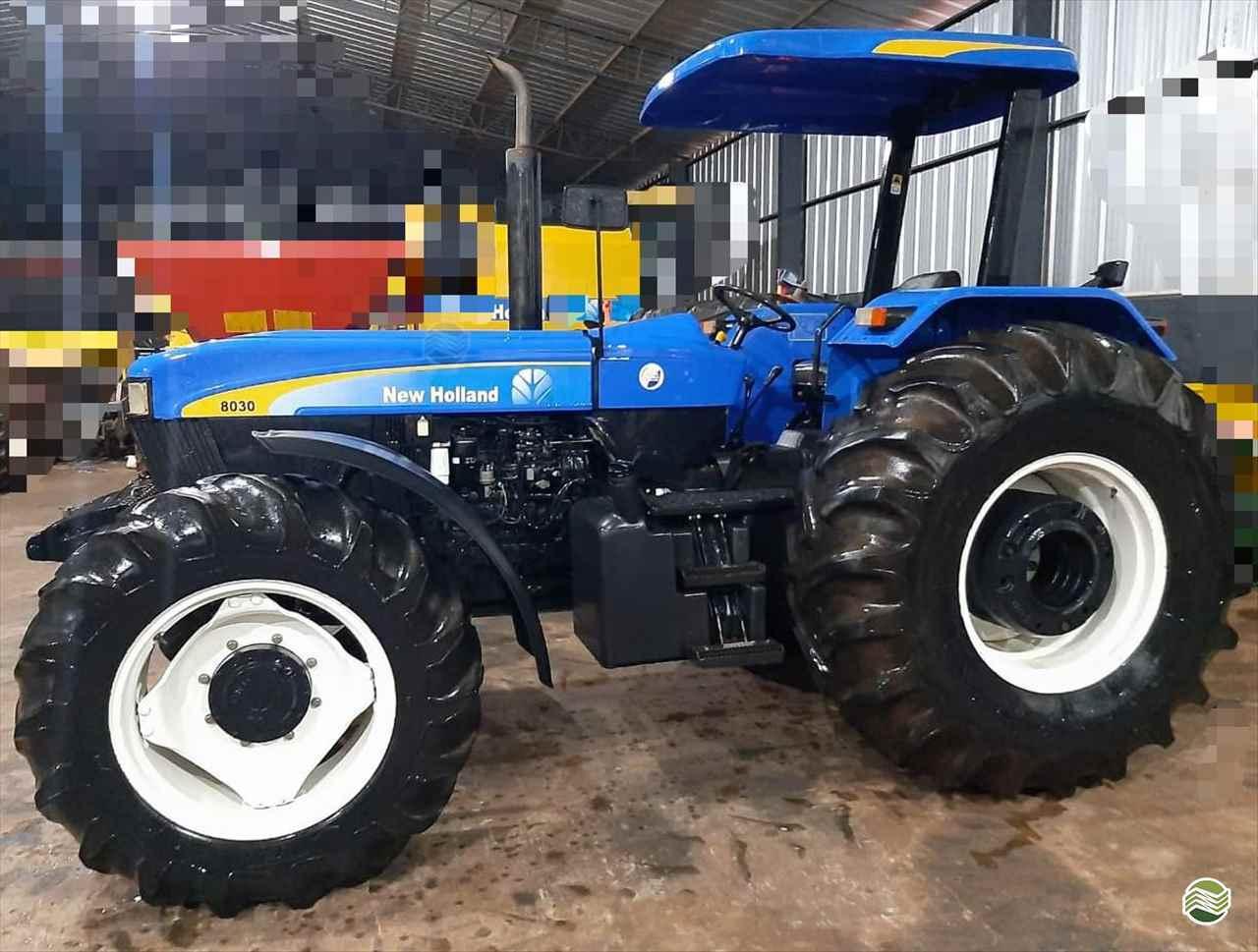 TRATOR NEW HOLLAND NEW 8030 Tração 4x4 Rural Vendas TERRA ROXA PARANÁ PR