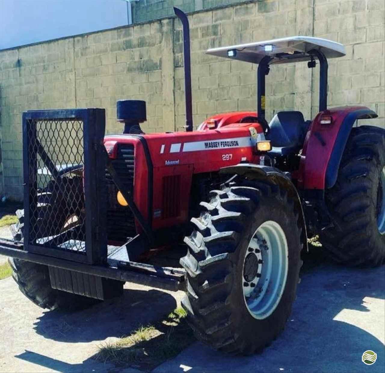 TRATOR MASSEY FERGUSON MF 297 Tração 4x4 Rural Vendas TERRA ROXA PARANÁ PR