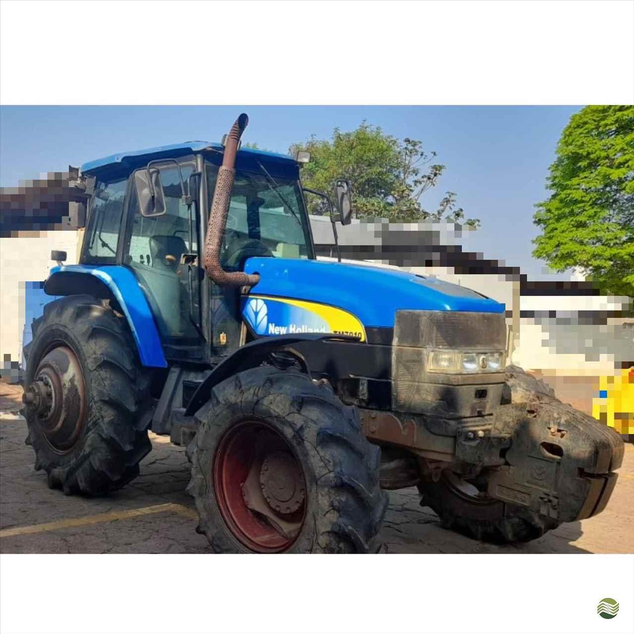 TRATOR NEW HOLLAND NEW TM 7010 Tração 4x4 Rural Vendas TERRA ROXA PARANÁ PR