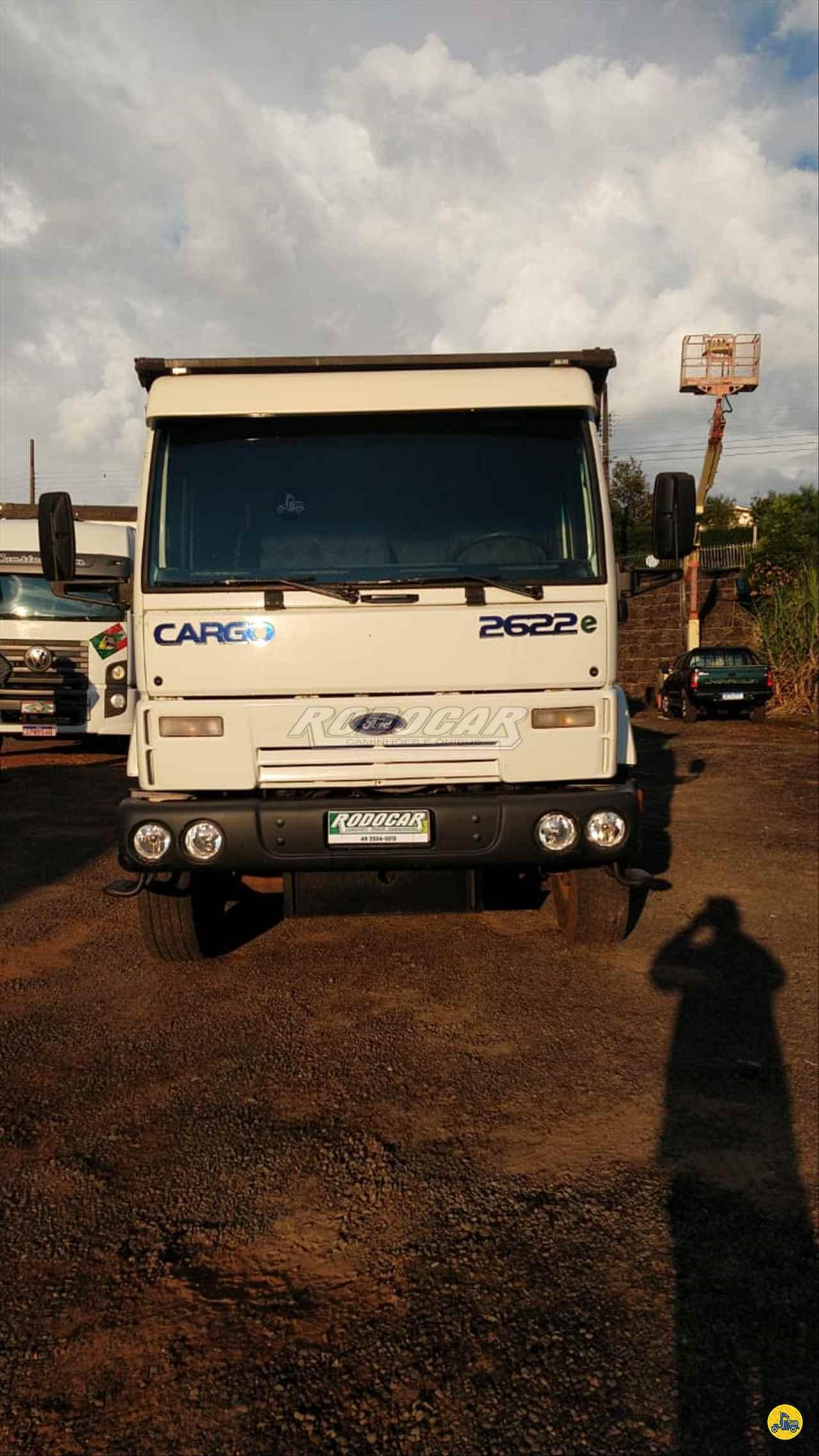 CAMINHAO FORD CARGO 2622 Caçamba Basculante Traçado 6x4 Rodocar Caminhões CHAPECO SANTA CATARINA SC
