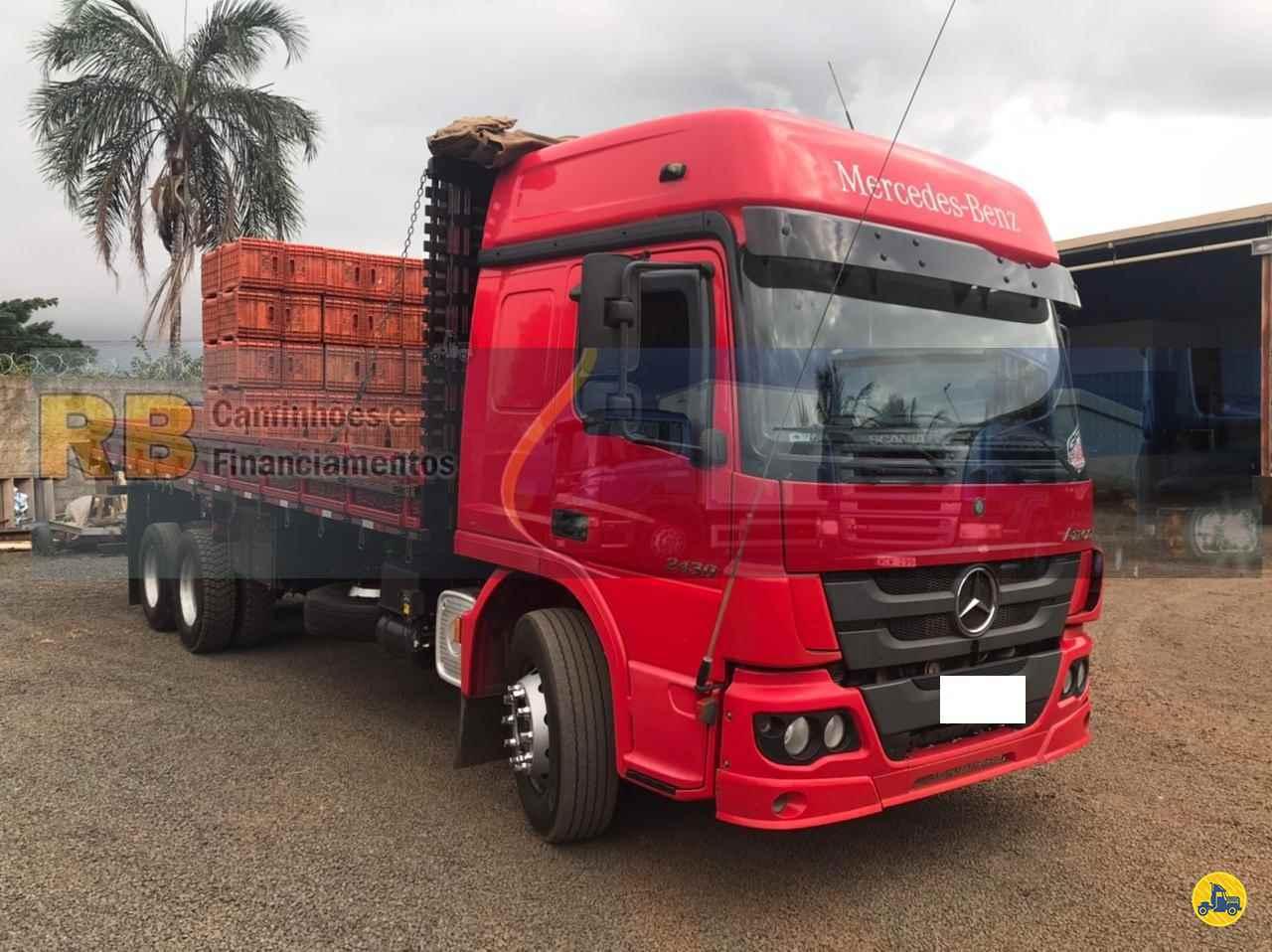 CAMINHAO MERCEDES-BENZ MB 2430 Carga Seca Truck 6x2 RB Caminhões & Financiamentos ARAGUARI MINAS GERAIS MG