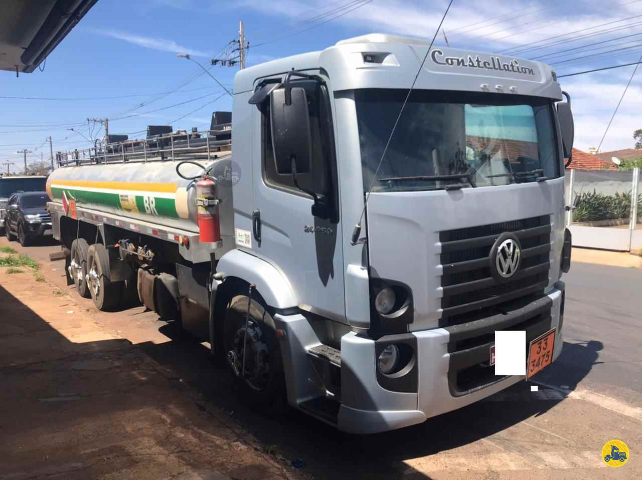 CAMINHAO VOLKSWAGEN VW 24250 Tanque Aço Truck 6x2 RB Caminhões & Financiamentos ARAGUARI MINAS GERAIS MG