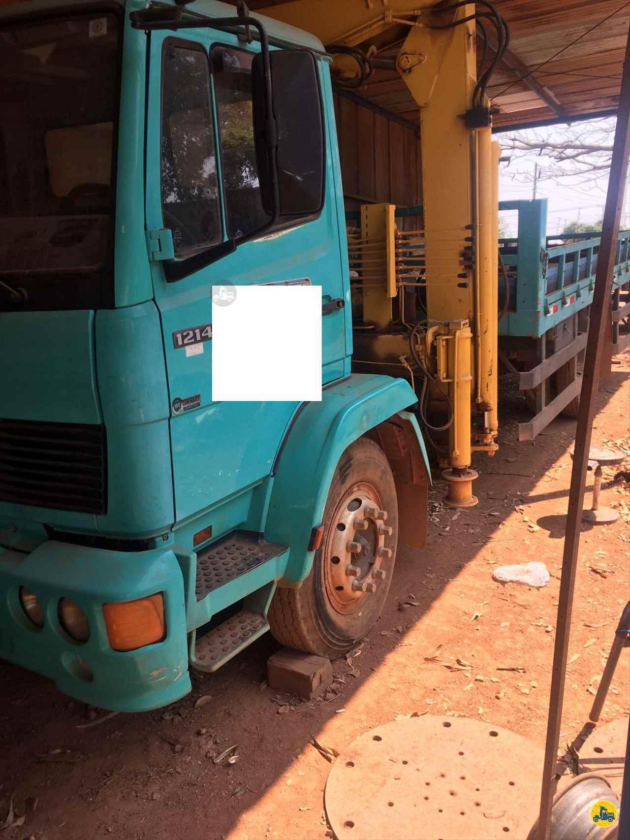 CAMINHAO MERCEDES-BENZ MB 1214 Guincho Munck 3/4 4x2 RB Caminhões & Financiamentos ARAGUARI MINAS GERAIS MG