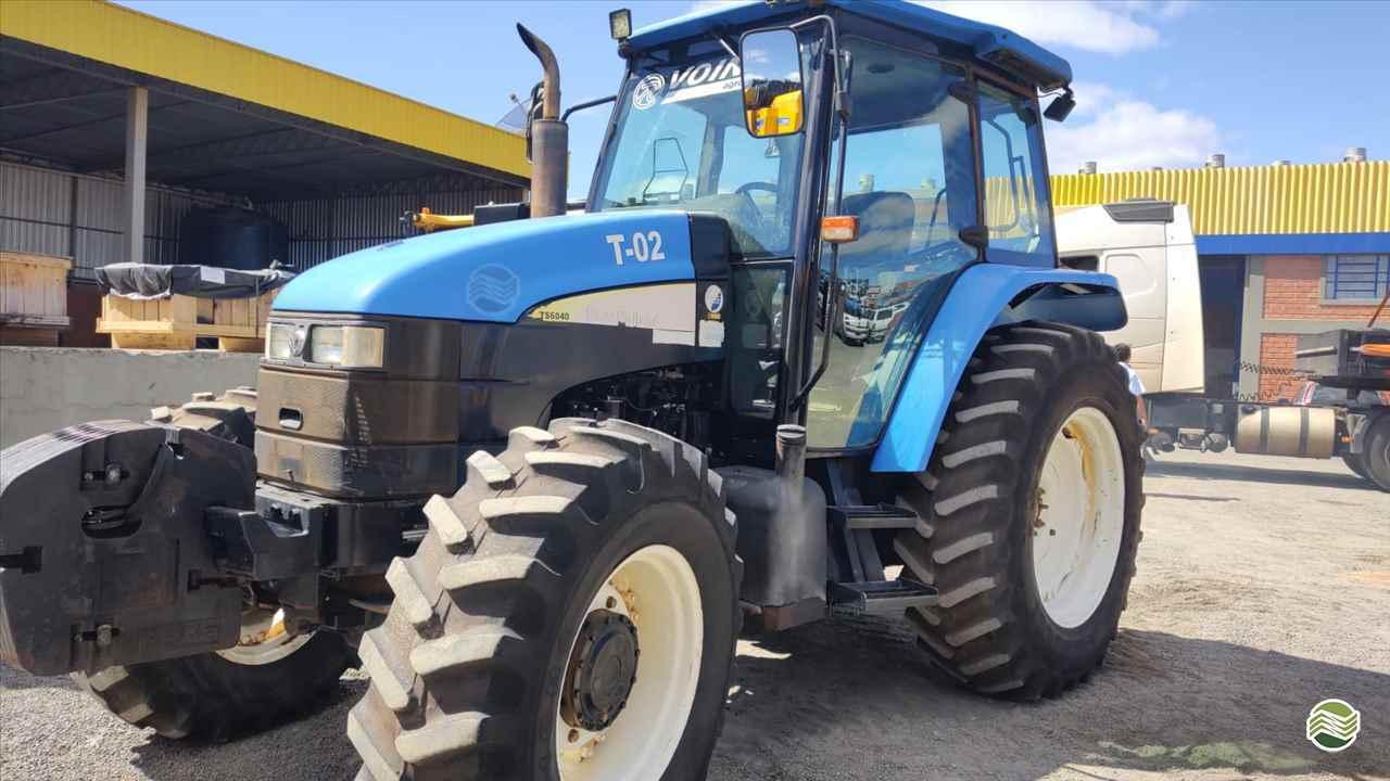TRATOR NEW HOLLAND NEW TS 6040 Tração 4x4 Pedrinho Tratores CASTRO PARANÁ PR