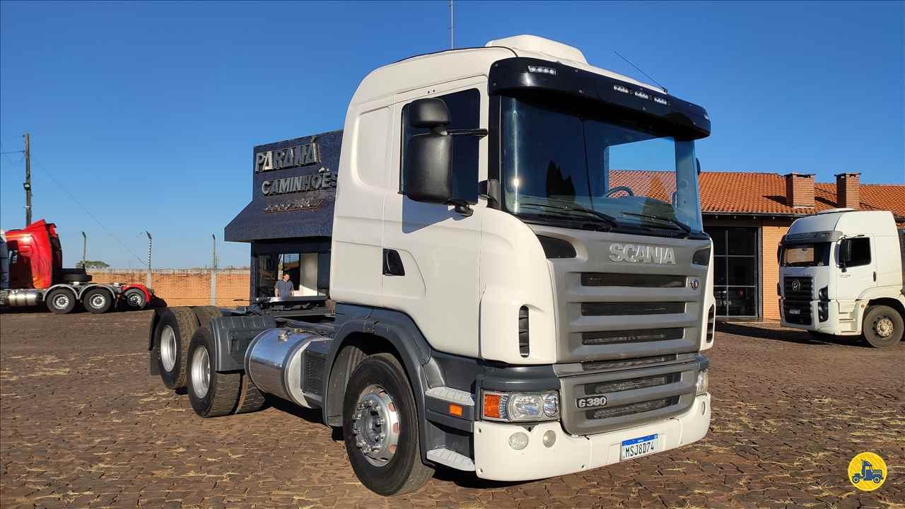 CAMINHAO SCANIA SCANIA 380 Cavalo Mecânico Truck 6x2 Paraná Caminhões - PR PATO BRANCO PARANÁ PR