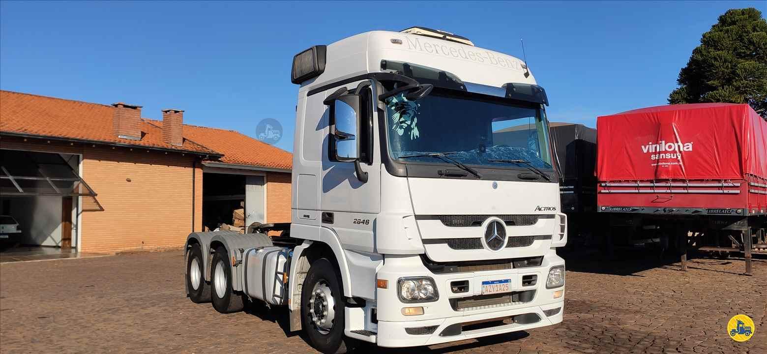 CAMINHAO MERCEDES-BENZ MB 2646 Cavalo Mecânico Traçado 6x4 Paraná Caminhões - PR PATO BRANCO PARANÁ PR